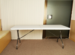 Handbell foldable tables